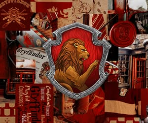 gryffindor, grifinoria, and harry potter headers image