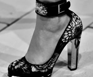 heels, Alexander McQueen, and fashion image