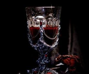 dark, vampire, and aesthetic image