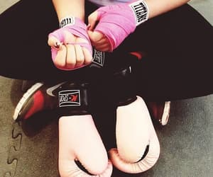 boxing, exercise, and fitness image