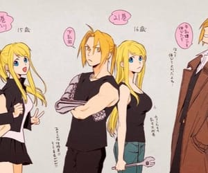 fullmetal alchemist, anime couple, and edward elric image
