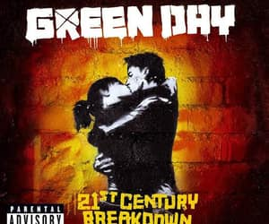 album, green day, and 21st century breakdown image