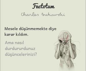 charles bukowski, türkçe sözler, and edebiyat sokakta image