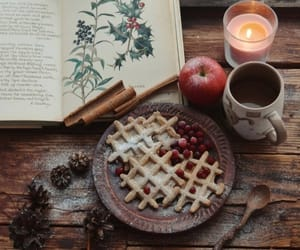 breakfast, candle, and candlelight image