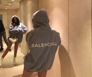 Balenciaga, hoodie, and fashion image