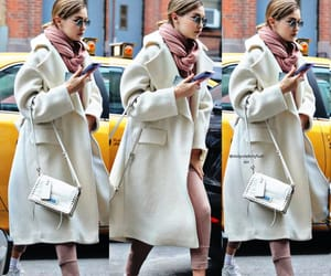 beauty, candids, and coat image