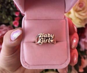 baby, girl, and jewlery image