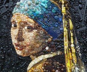 aesthetic, creativity, and vermeer image