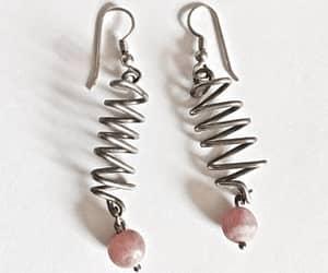 etsy, pierced earrings, and flower earrings image