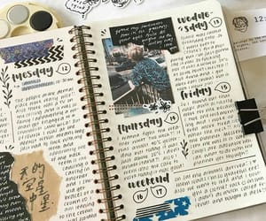journal, journaling, and bujo image