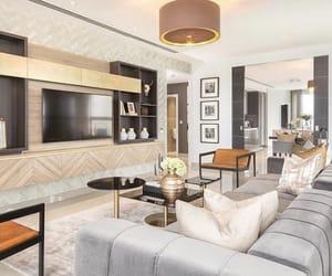 interior, london, and luxury image
