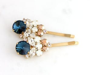 bobby pins, bridal jewelry, and hair accessories image