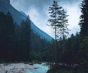 wallpaper, blue, and nature image