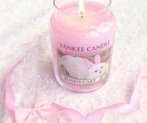 candle, pastel, and yankee image