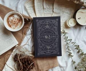 aesthetics, books, and coffee image