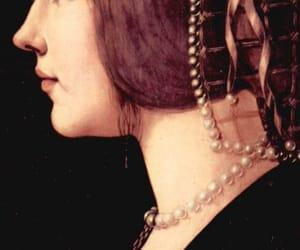 Leonardo da Vinci, medieval, and pearl image