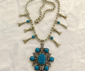 art jewelry, vintage necklace, and signed art image