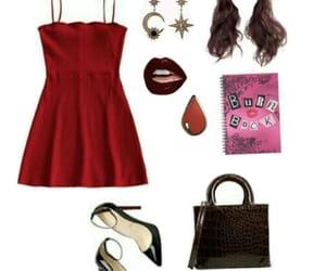 bag, burn book, and dress image