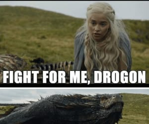 game of thrones, dragon, and funny image