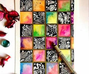 art, mandalas, and arte image