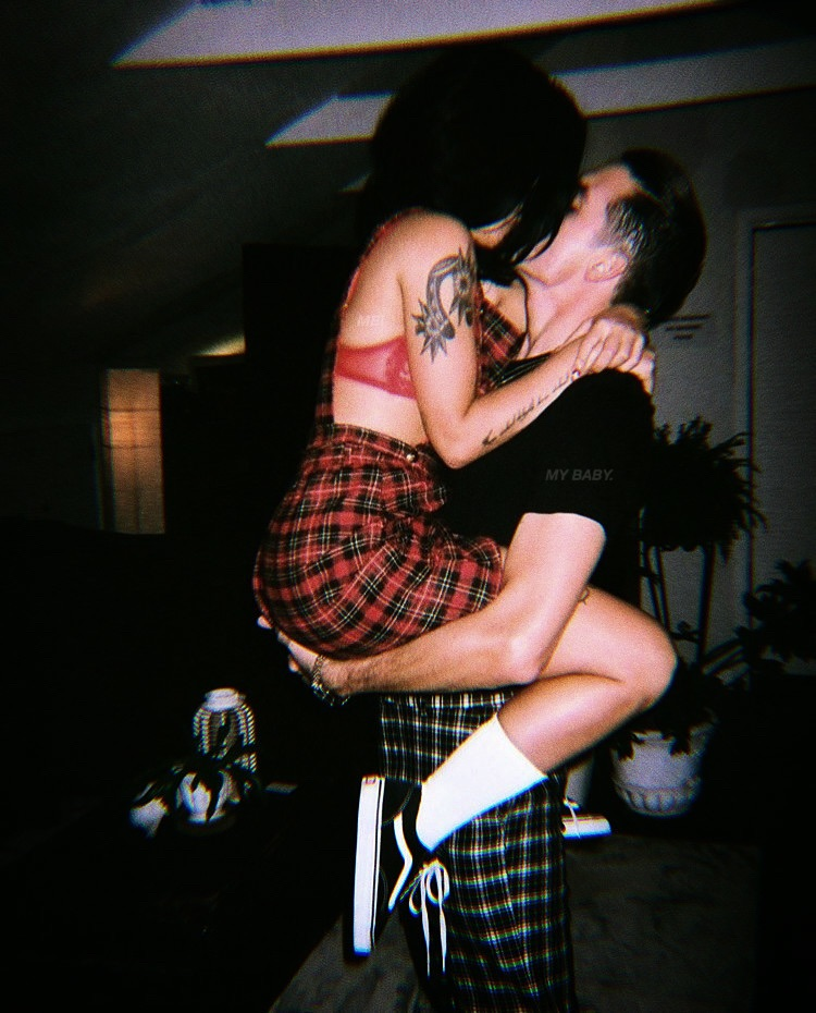halsey, couple, and goals image