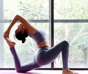 fit, healthy, and yoga image