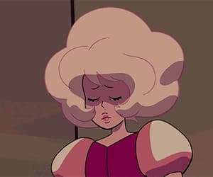 gif, pink diamond, and steven universe image