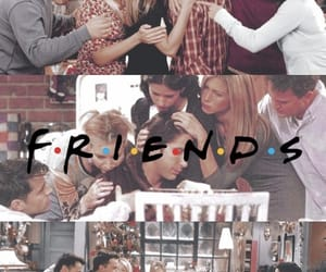chandler bing, friends wallpaper, and joey tribbiani image