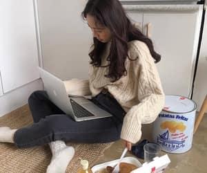 food, girl, and ulzzang image