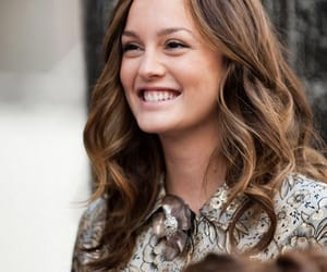 gossip girl, blair waldorf, and leighton meester image
