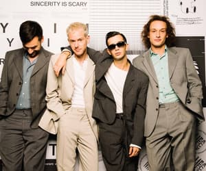 the 1975, band, and ross macdonald image
