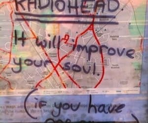 music, radiohead, and soul image