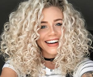 beauty, beautiful, and curly hair image