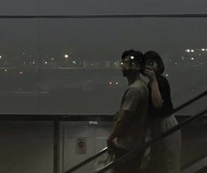 couple, asian, and night image