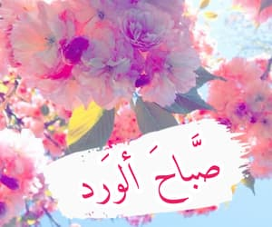 صباح الخير, ًورد, and تصًميم image