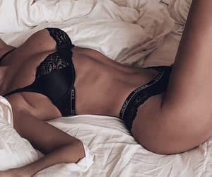 girl and lingerie image
