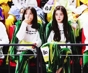 red velvet, irene, and seulrene image
