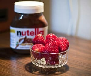 breakfast, eat me, and nutella image