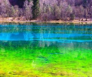 chine, juizhaigou, and lac des 5 fleurs image