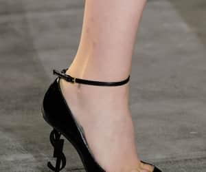 heels, YSL, and Yves Saint Laurent image
