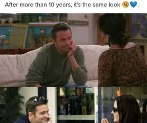 adorable, chandler bing, and couples image