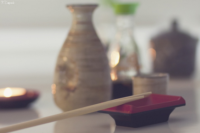 chopsticks, pretty, and traditional image