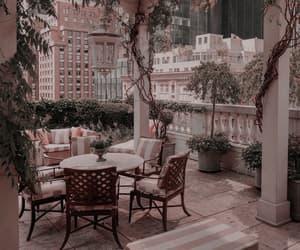 garden, luxury, and balcony image