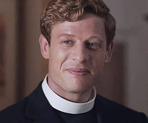 gif, grantchester, and handsome image