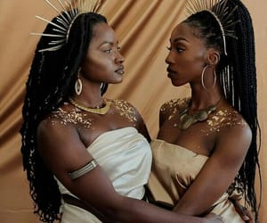 black and melanin image