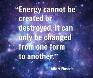 Albert Einstein, energy, and destroyed image