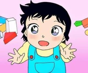 anime, kawaii, and detective conan image