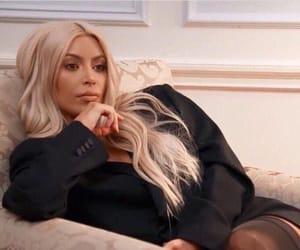 annoyed, kim kardashian, and kimk image