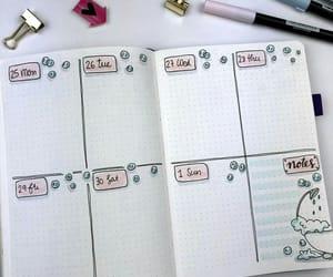 organization, planner, and school image