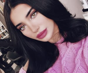 beauty, makeup goals, and girls+baddies+babes image